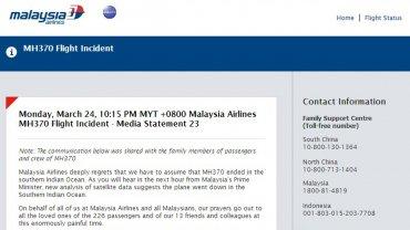comunicado-malaysia-airlines