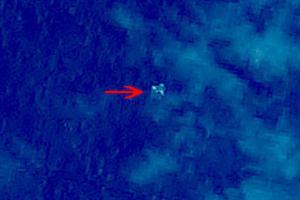 el-avion-de-malaysia-airlines-visión-satélite