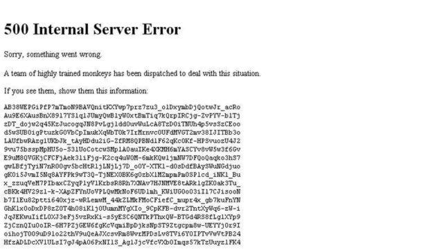 error youtube