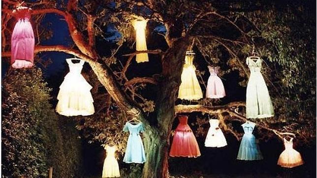 vestidos colgando