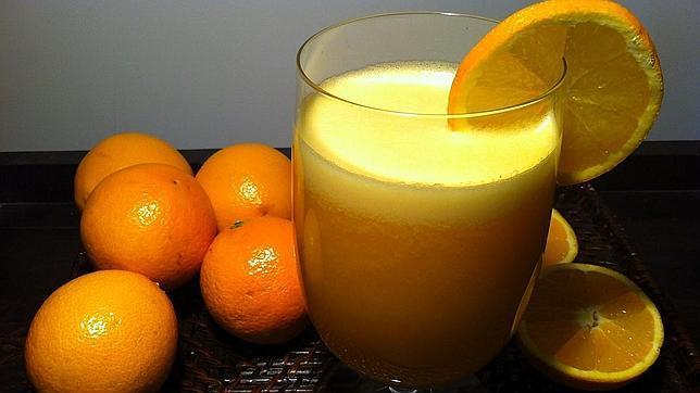 Jugo natural de Naranja y Zanahoria