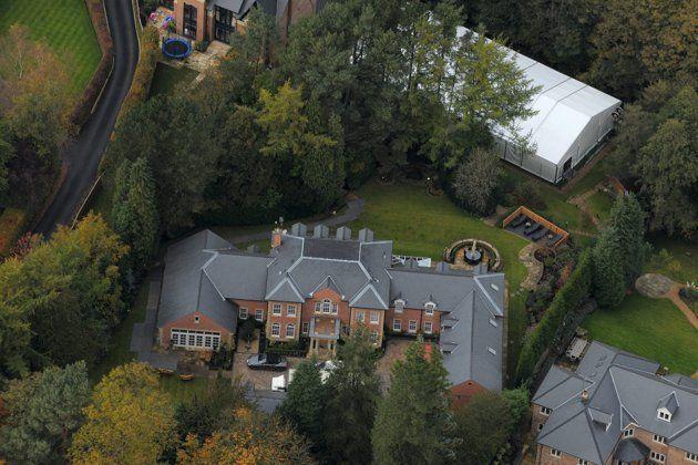 Wayney Rooney Casa