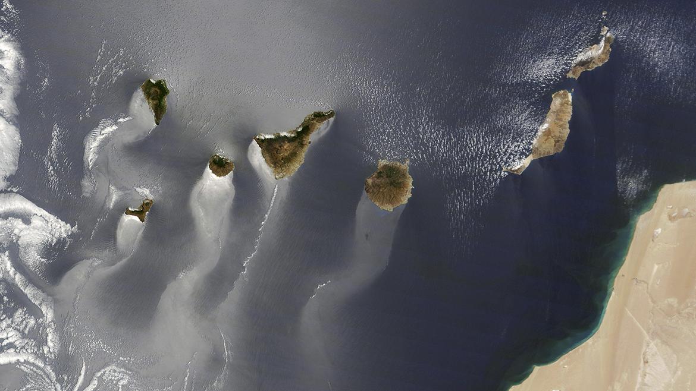 LA NASA SE ENGANCHA A CANARIAS: LA IMAGEN DE LAS ISLAS, DE NUEVO FOTO DEL AÑO