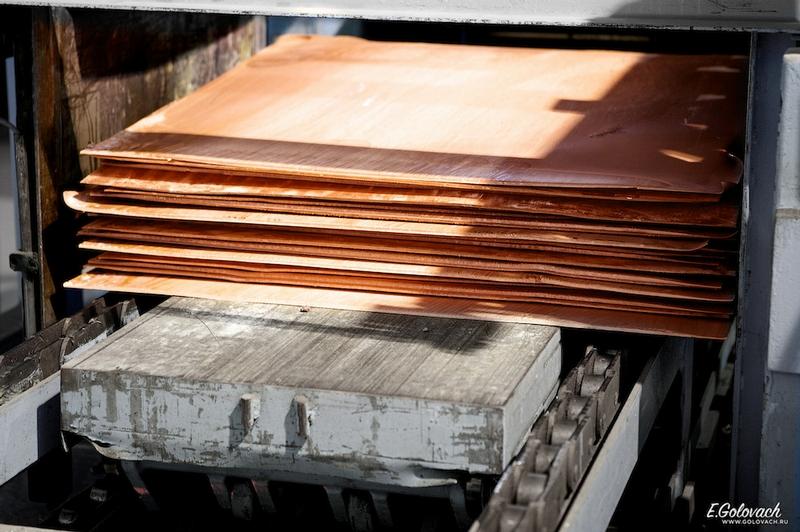 producción del cobre 12