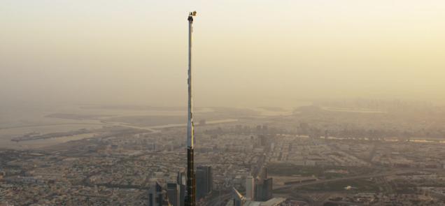 saltar del edificio mas alto
