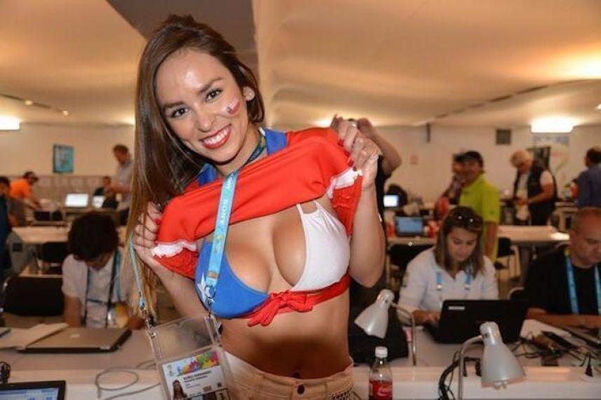 Reportera chilena