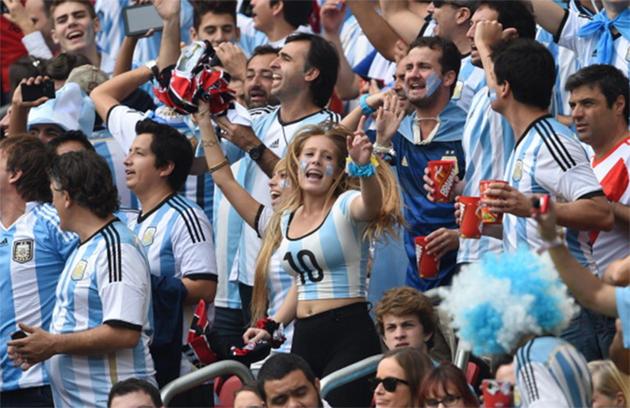 Argentina Nigeria, Mundial
