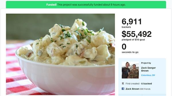 Kickstarter-ensalada
