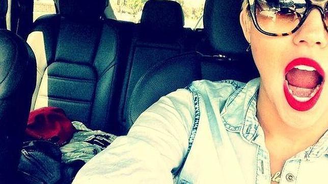 Selfie al auto