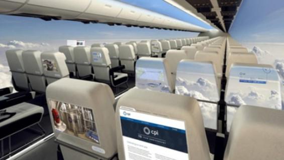 avion transparente
