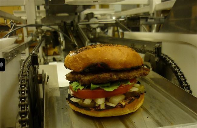 robot hamburguesa