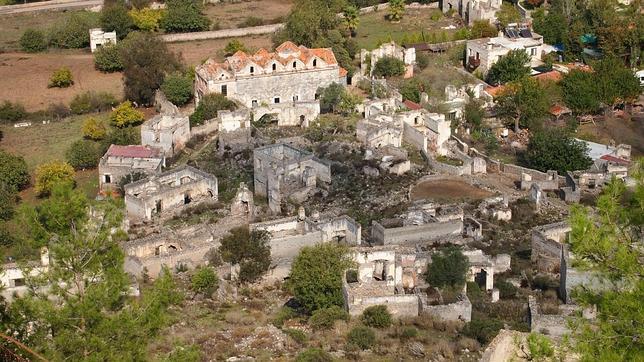 Kayakoy, Fethiye. Turquía