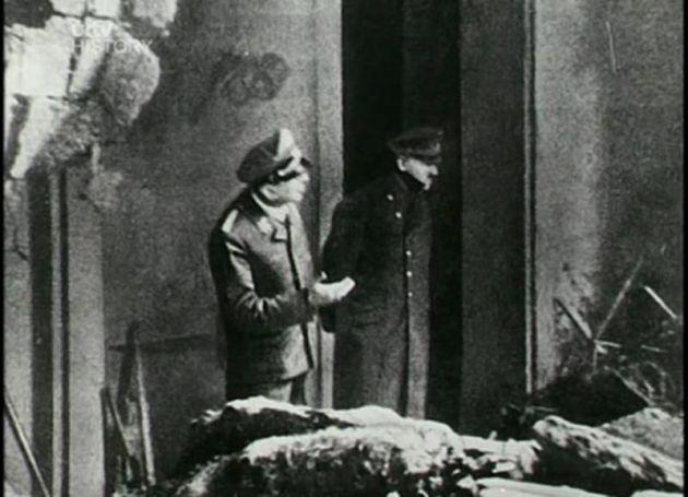 última imagen de Adolf Hitler