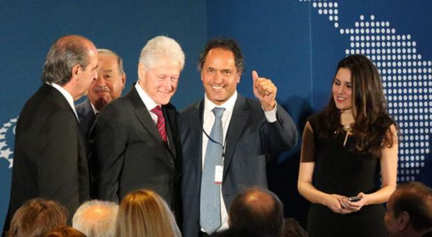 Clinton -  Scioli