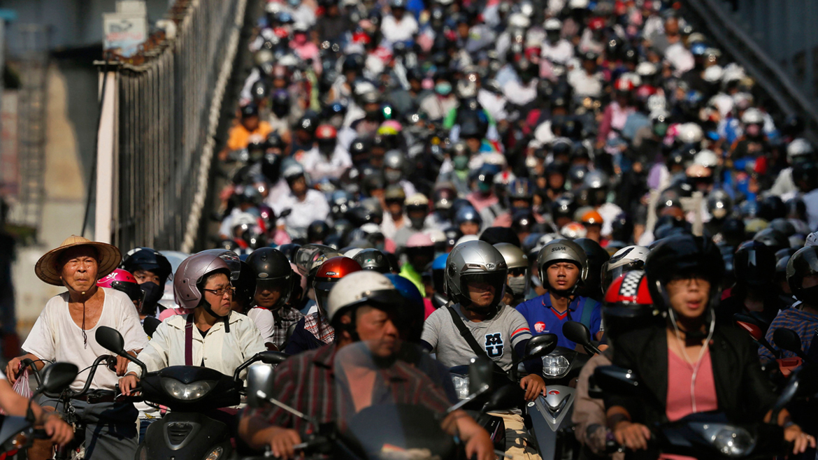 World Rush Hour Photo Gallery
