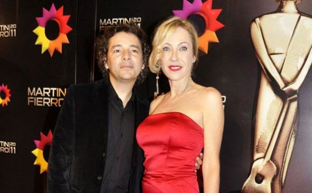 Inés Estévez y Fabián Vena