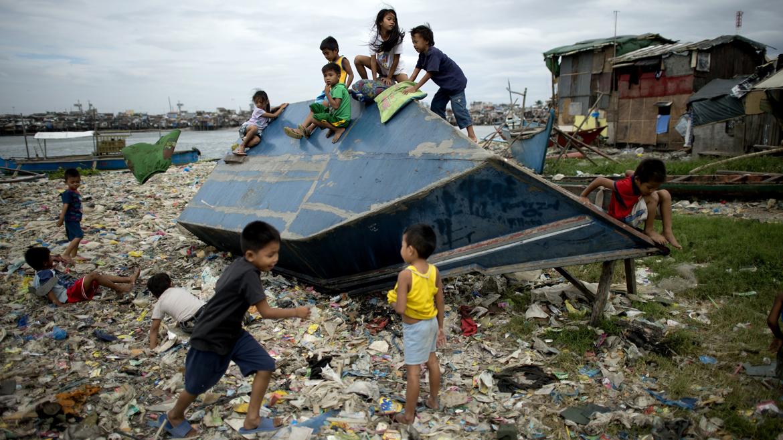 TOPSHOTS-PHILIPPINES-WEATHER-STORM
