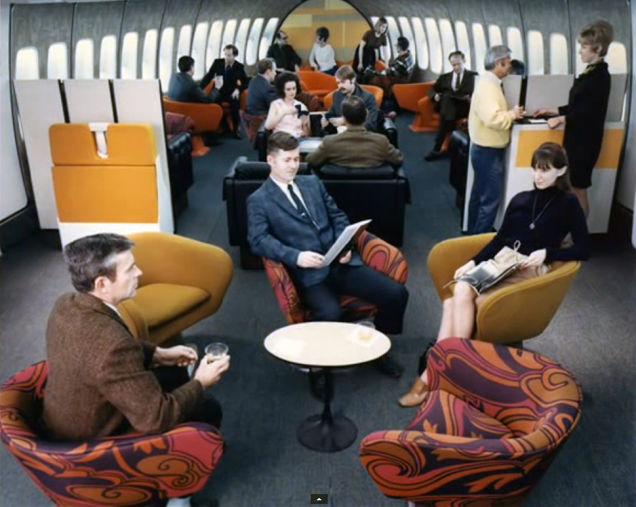avion de los 70e