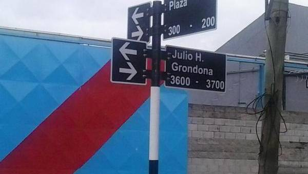 calle grondona