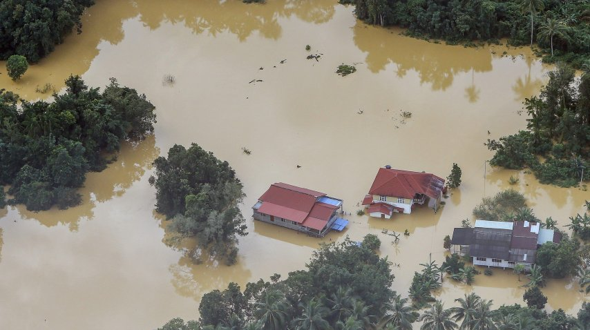 Inundacion en Malasia 1