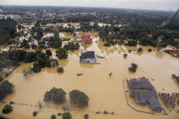 Inundacion en Malasia 3