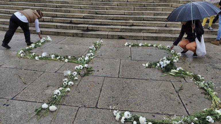 México: Protesta por los estudiantes desaparecidos