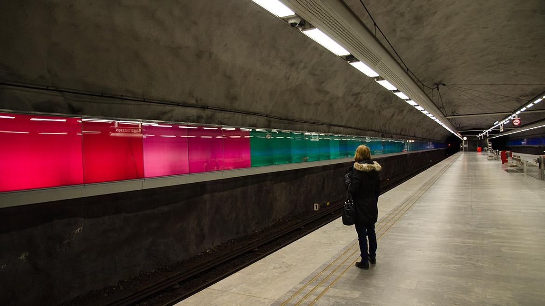 Subte Estocolmo 8