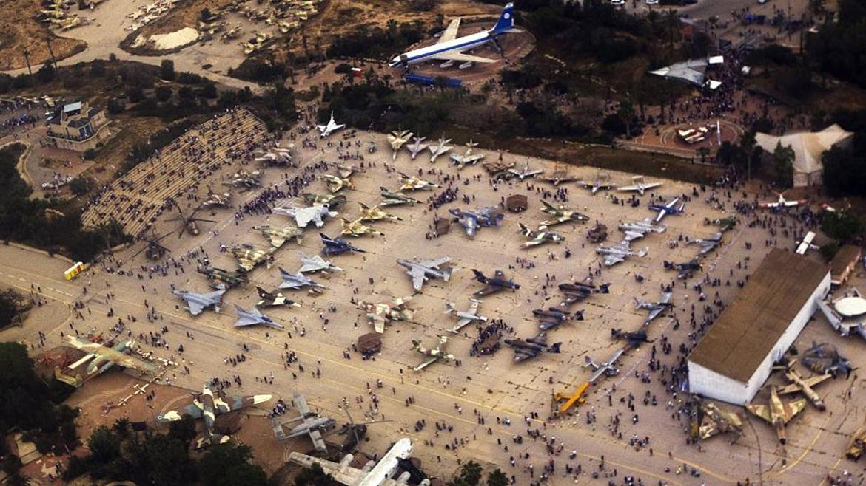 Museo de la fuerza aérea israelí en Beersheba