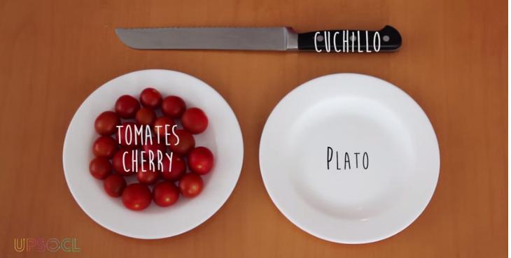 cortar tomates