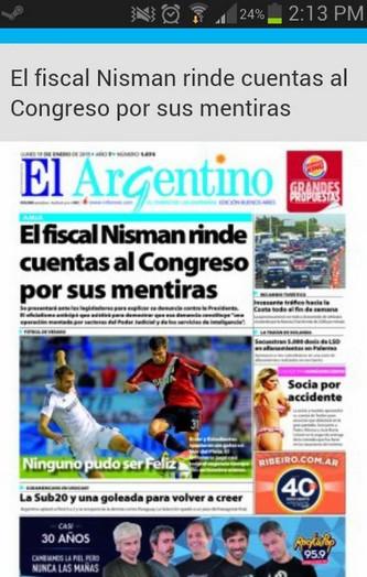 El Argentino WEB