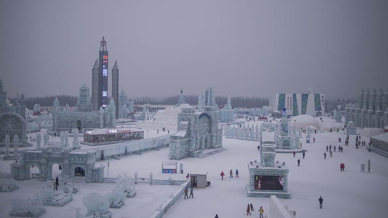 CHINA-LEISURE-SNOW-ICE