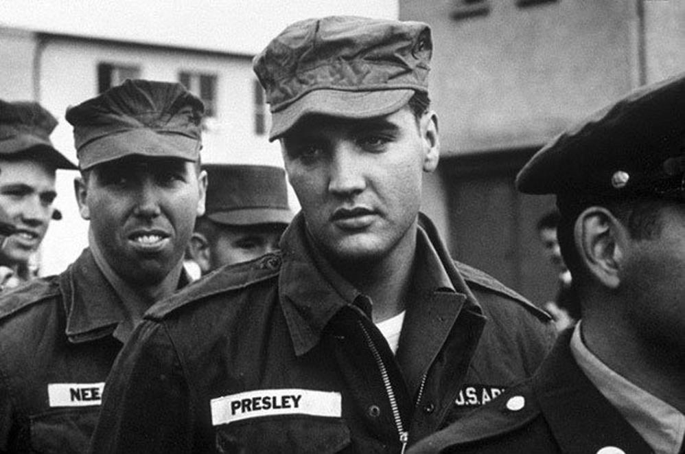 Elvis Presley en el ejército, 1958