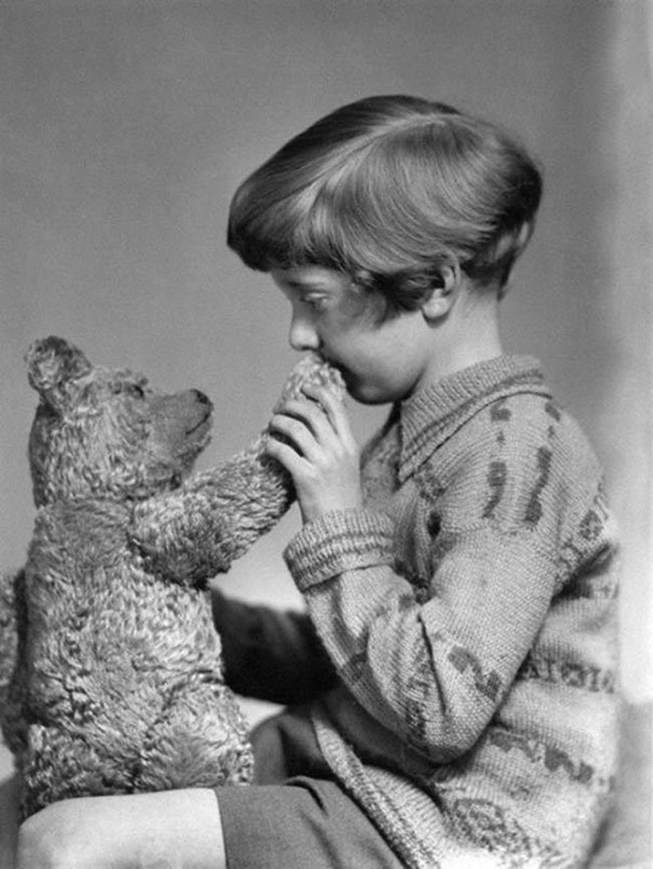 Los reales Winnie The Pooh y Christopher Robin, 1927