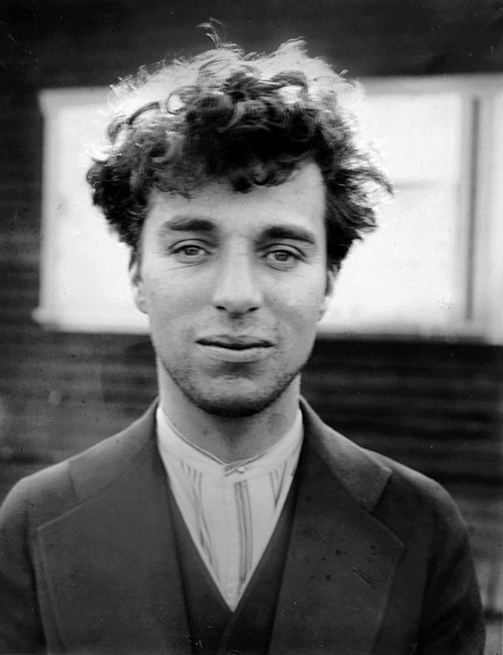 Charlie Chaplin a la edad de 27 años, 1916