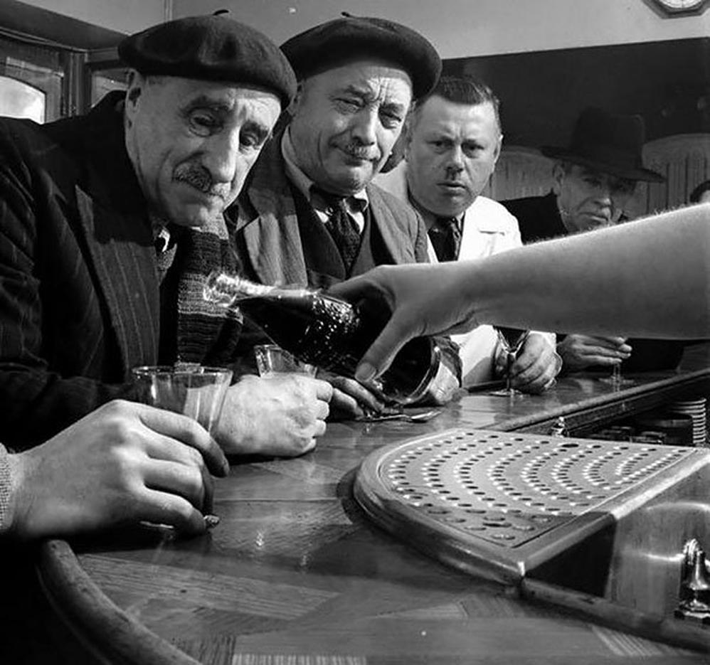 Coca-Cola llega a Francia, 1950