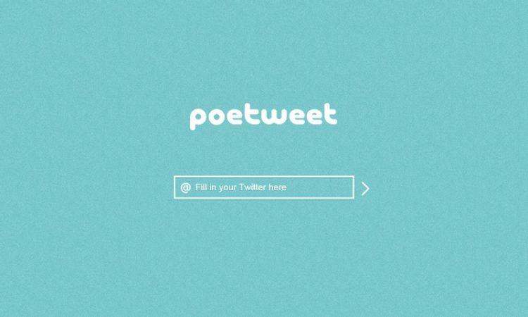 Crean Una Aplicación Para Generar Poemas De Los Tuits Que