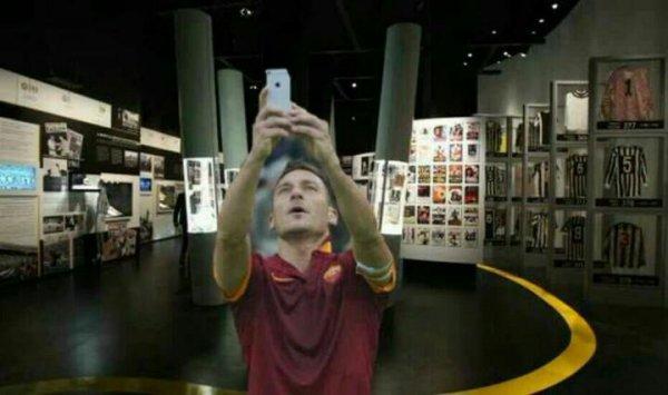 selfie totti (5)