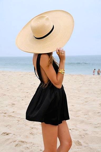 straw-hat-street-style-fashion-beige-black-bow-beach-003