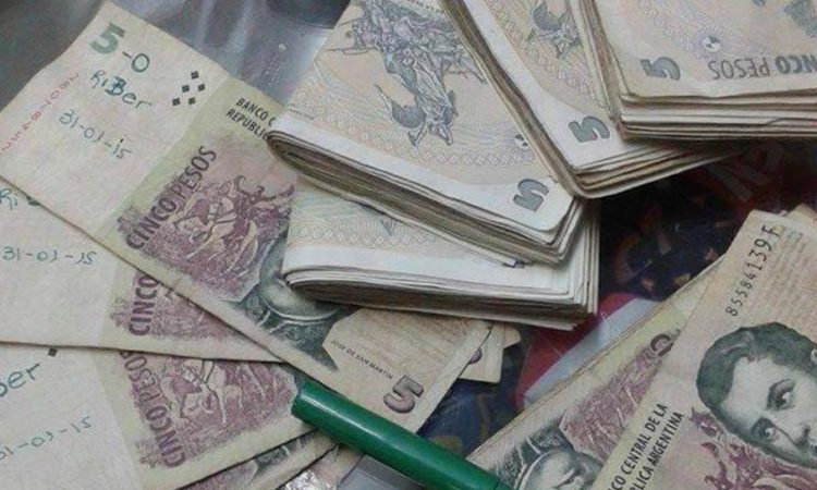 Hasta el próximo sábado se pueden canjear los billetes de cinco pesos