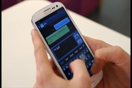celular mensaje