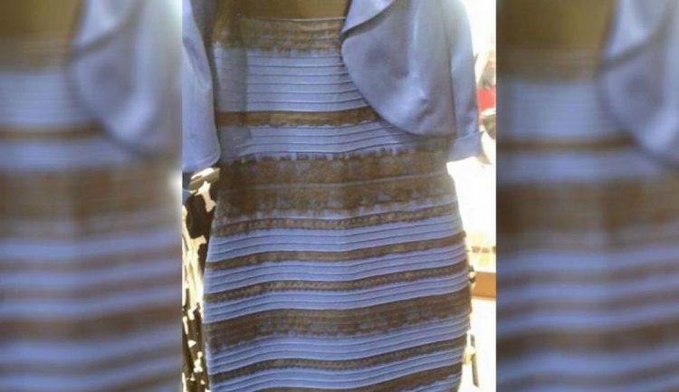 Color verdadero del vestido blanco y dorado