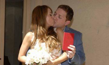 """Mirá las fotos del casamiento del periodista más """"Intratable"""" de todos"""