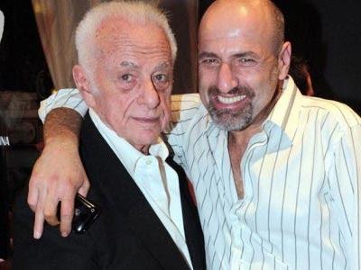 Gerardo Sofovich y su hijo Gustavo