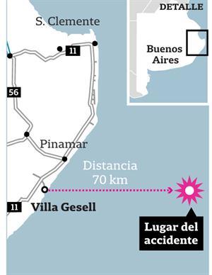 mapa barco