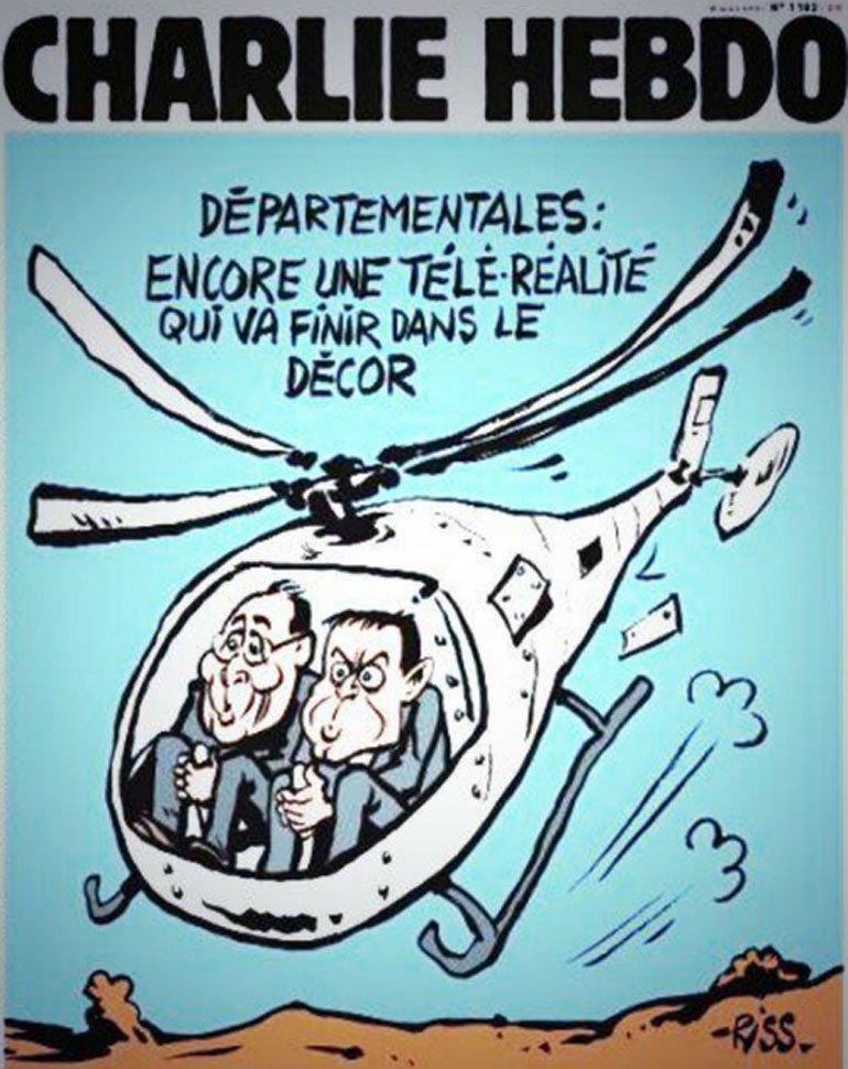 Tapa de Charlie Hebdo