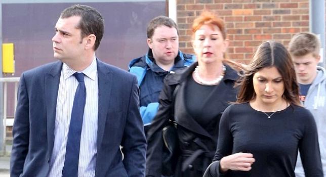Andrew O'Clee y su segunda esposa | Foto: Gentileza Daily Mail