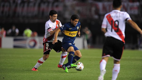 Boca-River-Superclásico