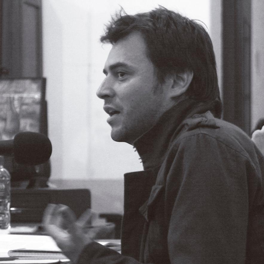 """Diego Genoud (@otro_periodista), autor de """"Massa. La biografía no autorizada"""""""