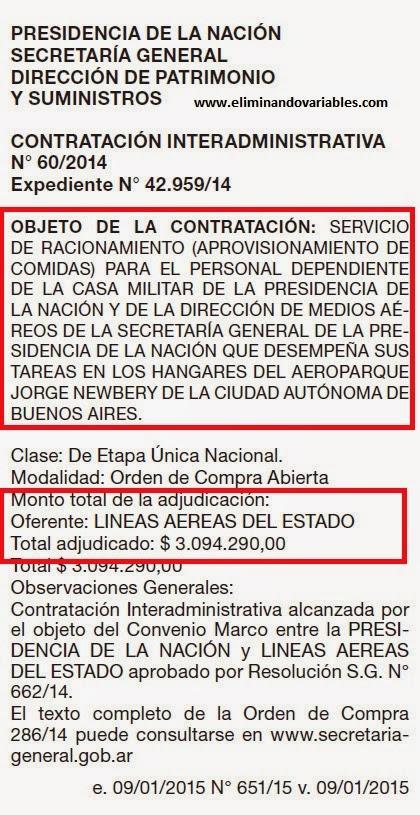 Contratación Interadministrativa 60-2014 de LADE