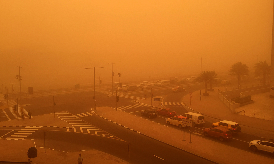 UAE-WEATHER-SANDSTORM